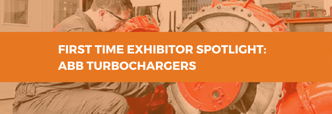 First Time Exhibitor Spotlight: ABB Turbochargers