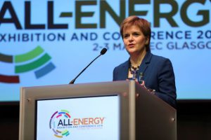 The First Minister of Scotland, Nicola Sturgeon will deliver a keynote address at the opening conference session at Dcarbonise and All-Energy