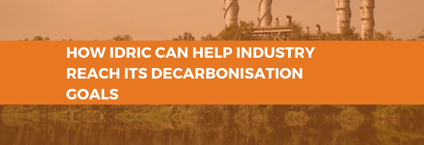 How IDRIC can help industry reach its decarbonisation goals