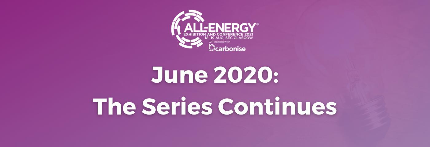 More Webinars in Ongoing All-Energy/DCarbonise Webinar Series