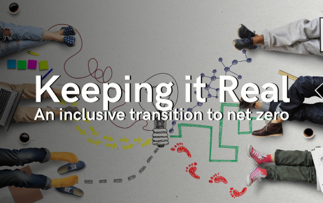 Keeping it real: An inclusive transition to net-zero – Jul 16, 10:00 am – BST