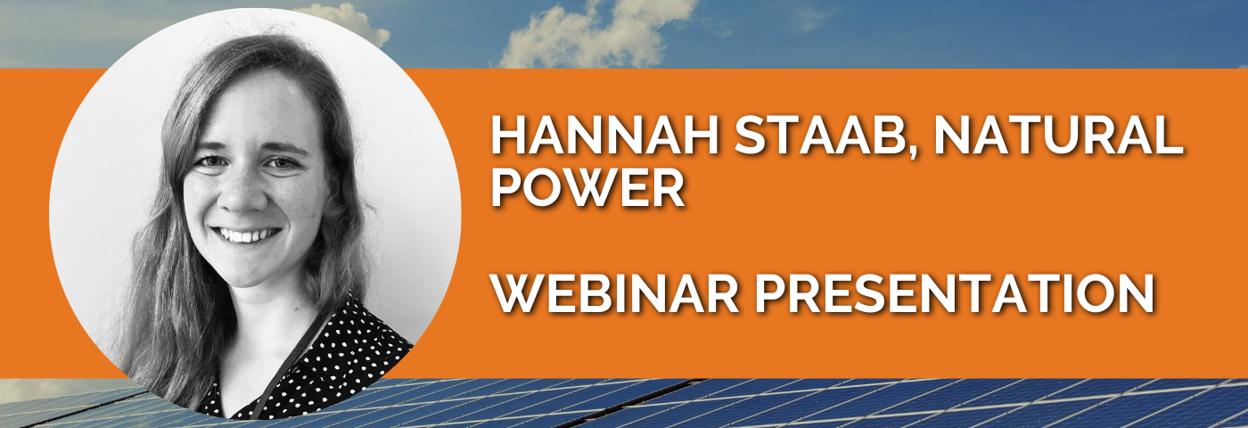 Hannah Staab: Improving the life of solar farms