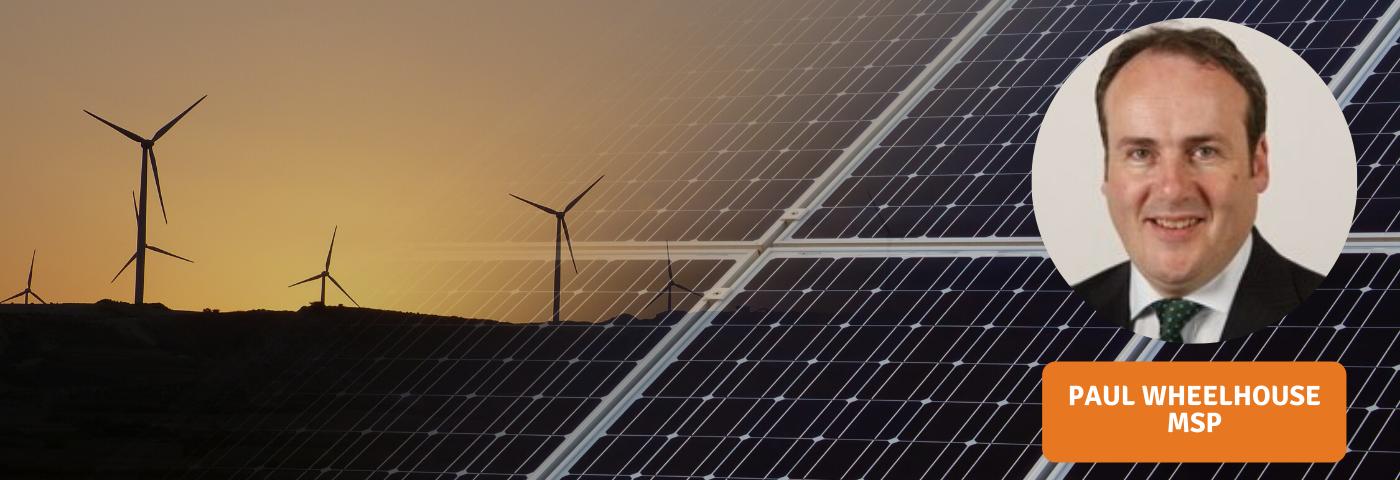 Paul Wheelhouse MSP on the importance of solar for Scotland