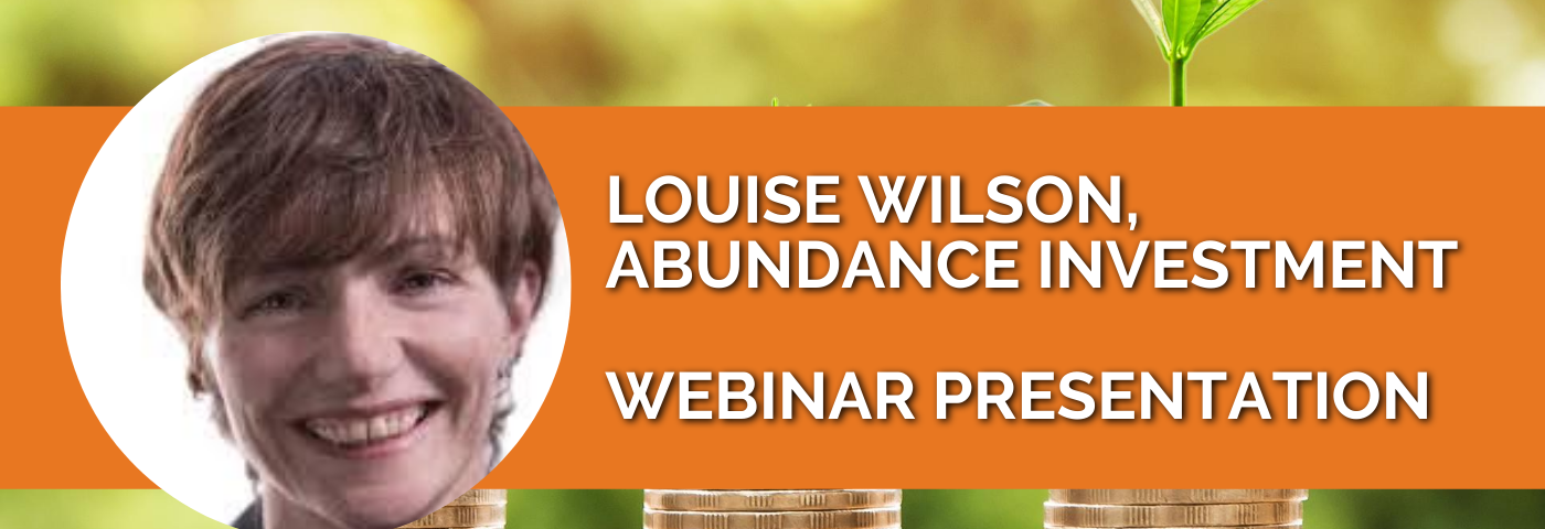 Louise Wilson: The green recovery opportunity