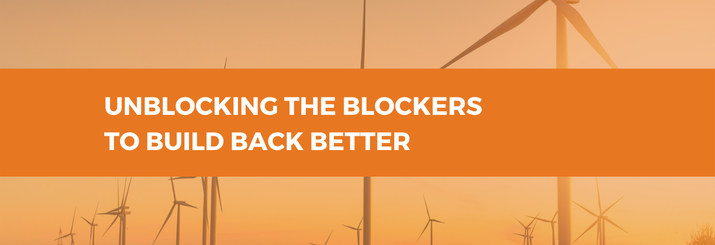 Unblocking the Blockers to Build Back Better: Onshore Renewables
