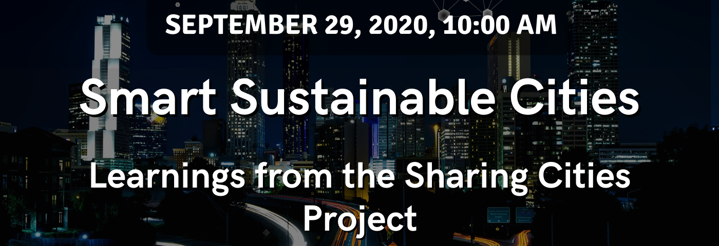 Smart Sustainable Cities: Learnings from the Sharing Cities Project