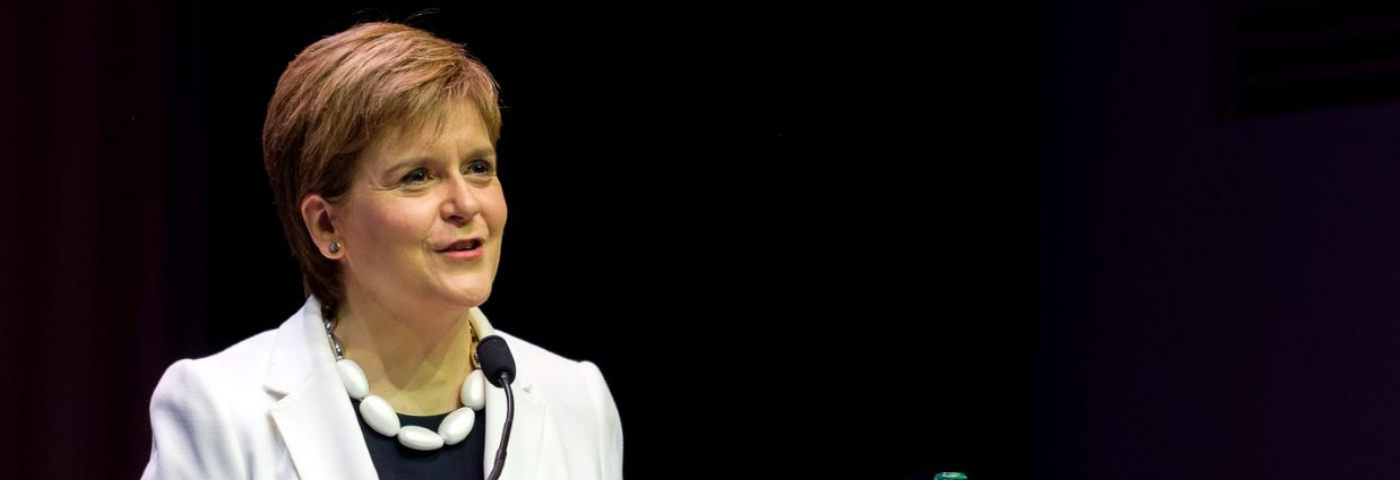 Nicola Sturgeon MSP, First Minister of Scotland to launch November Virtual Summit