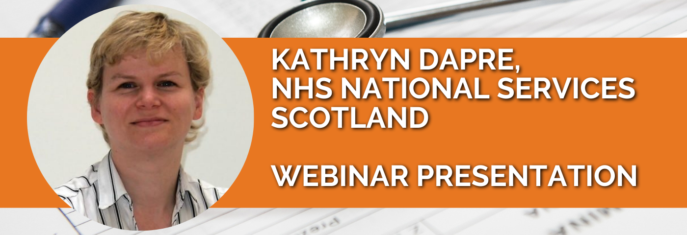 Kathryn Dapre: A Net-Zero NHS Scotland – How Will We Do It?