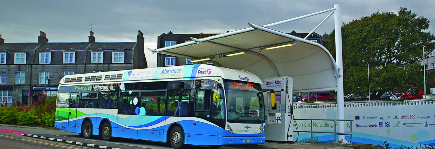 Hubs and clusters – how hydrogen will decarbonise UK transport
