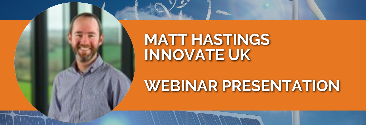 Matt Hastings: Modernising Energy Data Strategy