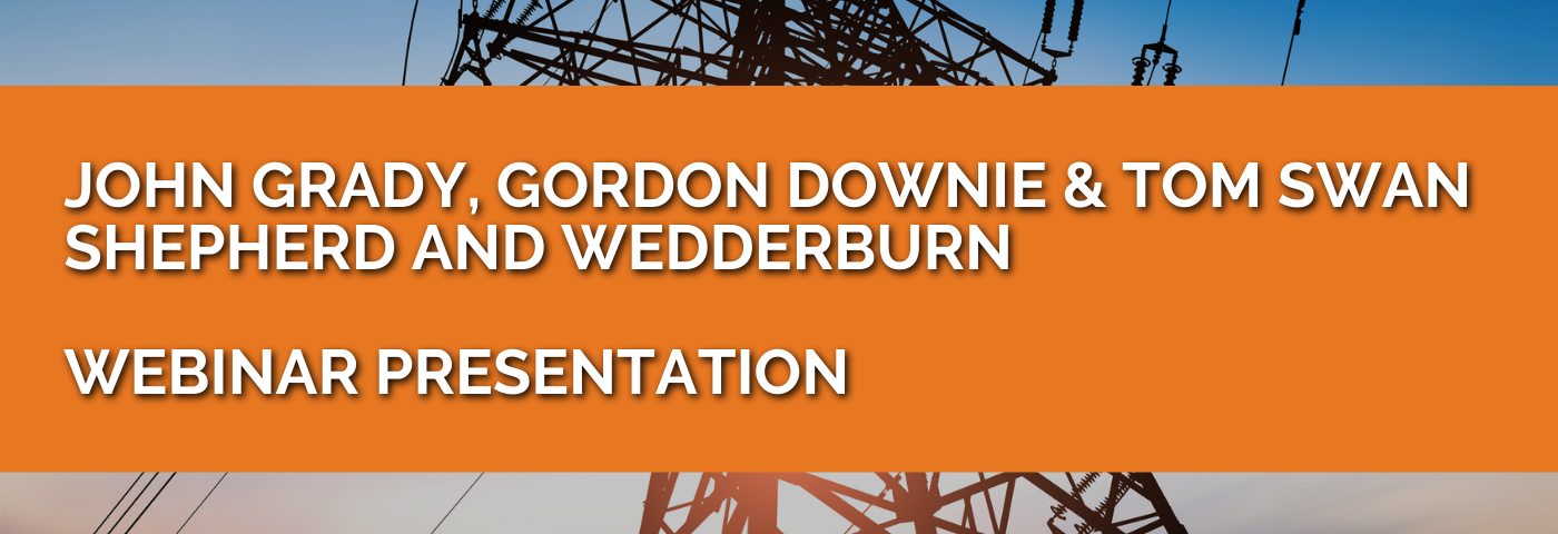 Shepherd and Wedderburn: Energy White Paper – review of key points