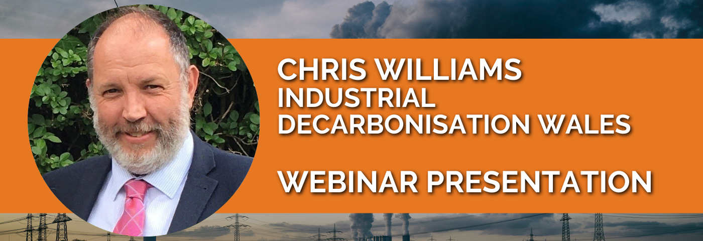 Chris Williams: Developing a South Wales Industrial Cluster