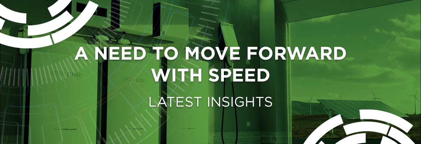 A need to move forward with speed