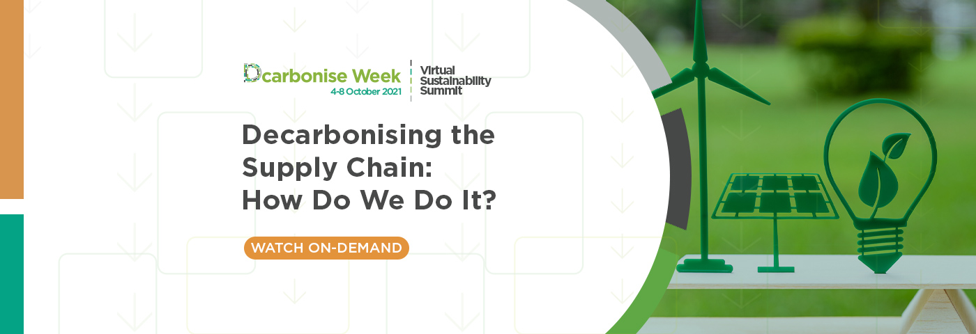 Decarbonising the supply chain: How do we do it?