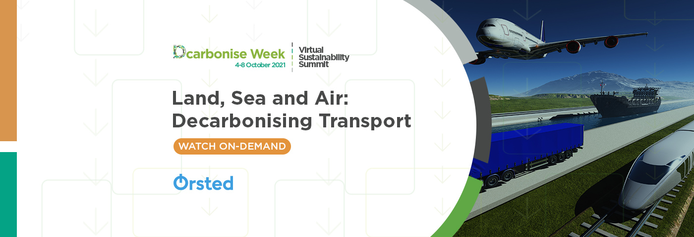Land, sea and air: Decarbonising transport