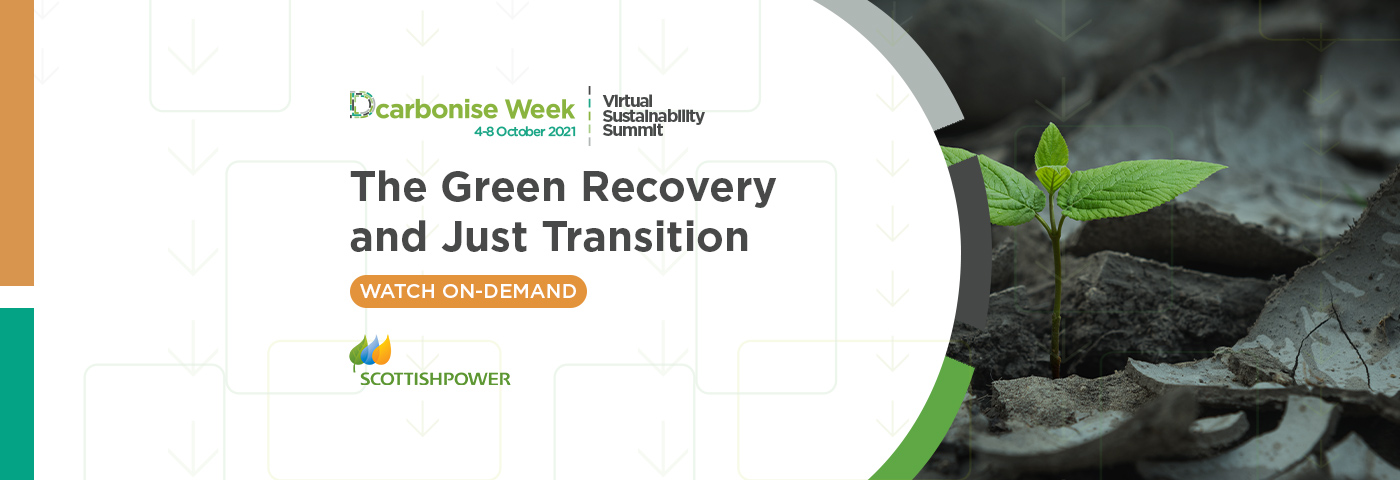 The Green Recovery and Just Transition