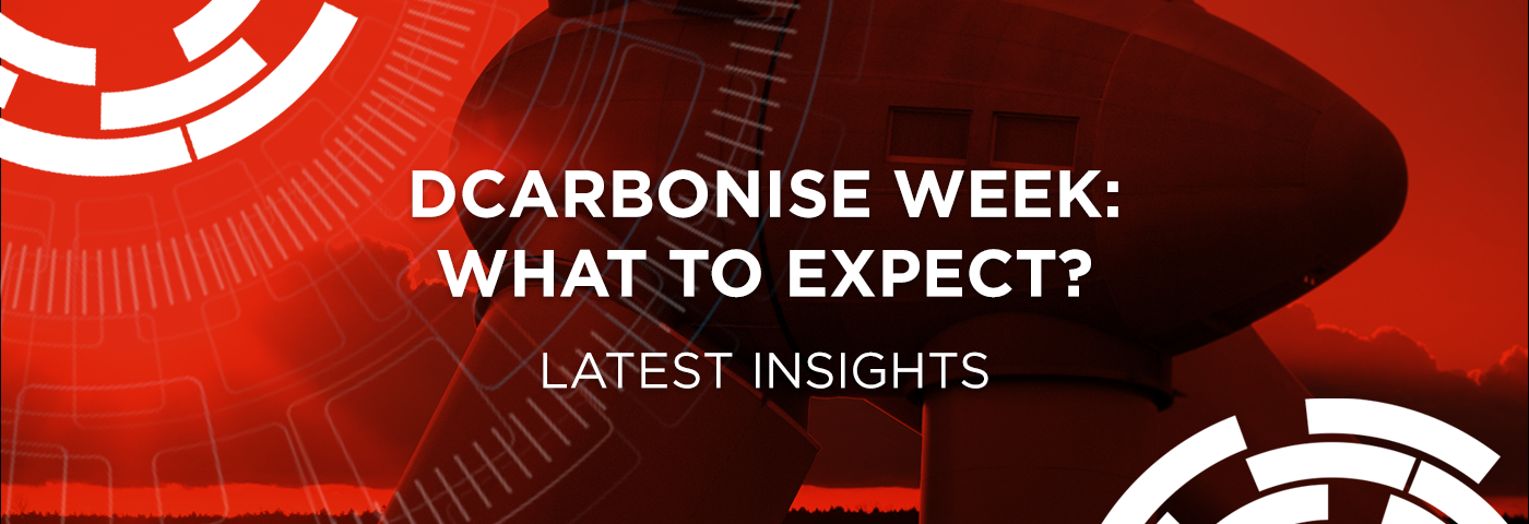 Dcarbonise Week 'Virtual Sustainability Summit' – what to expect?