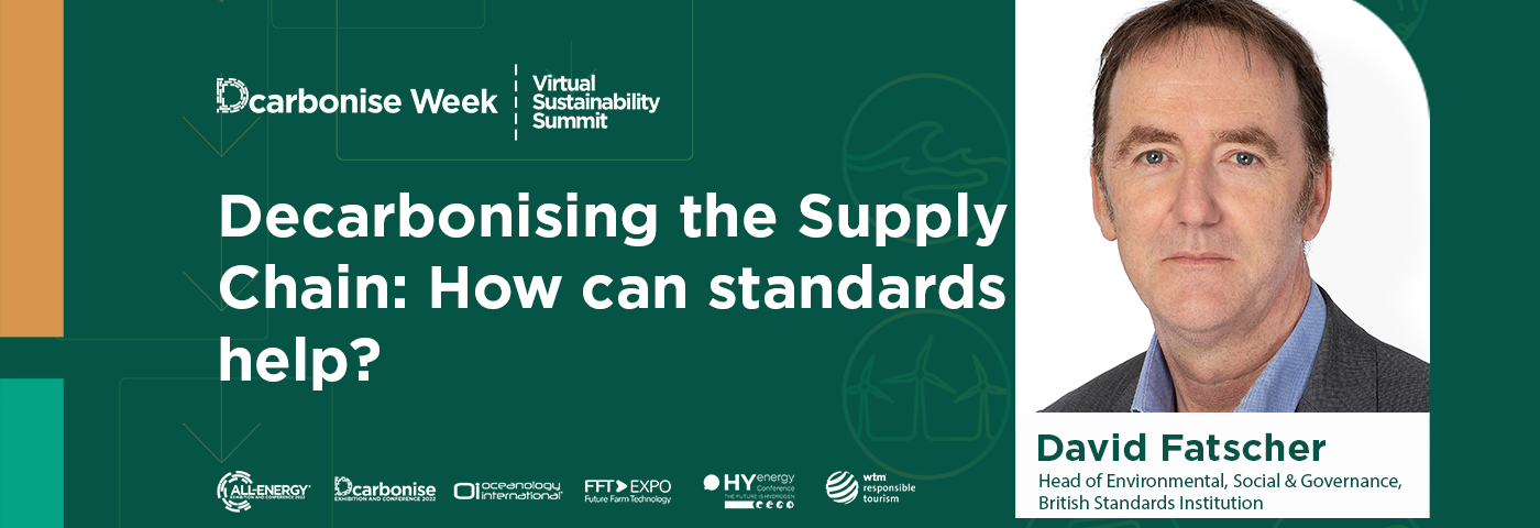 Decarbonising the Supply Chain: How can Standards Help?